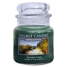 Village Candle Limited Edition Medium Jar - Secluded Dunes
