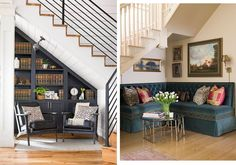 14 Tiny Spaces With Big Design Cred, Laurel & Wolf, Small Living Room Design, Small Living Rooms, Living Room Modern, Living Room Designs, Living Room Decor, Big Design, Tiny Spaces, Living Room Inspiration, Modern House Design