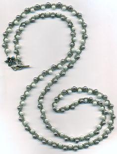 Много бисера не бывает... - Ожерелье из бисера и бусин