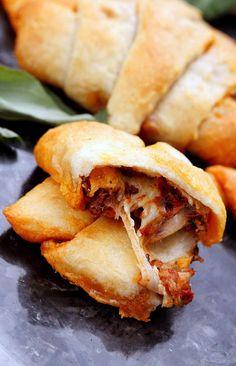 3 Ingredient Bruschetta Mozzarella Crescents Recipe