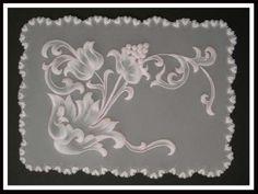 Encore une de nos créations : Avec Passion. Pergamano, Parchment Craft, Dentelle de Papier.