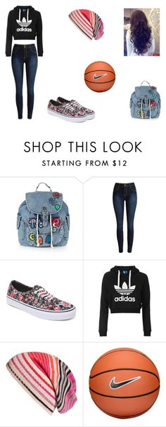 """Daria McCall 1"" by leah-holly-walker ❤ liked on Polyvore featuring Topshop, Vans, Missoni and NIKE"