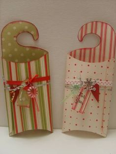 Dashing door hanger box by scrapperLinsey - Cards and Paper Crafts at Splitcoaststampers