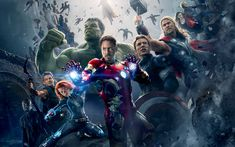 Avengers Age of Ultron - This HD Avengers Age of Ultron wallpaper is based on Avengers: Age of Ultron Movie. It released on N/A and starring Robert Downey Jr., Chris Evans, Mark Ruffalo, Chris Hemsworth. The storyline of this Action, Adventure, Sci-Fi Movie is about: When Tony Stark and Bruce Banner try to jump-start a... - http://muviwallpapers.com/avengers-age-ultron.html #Age, #Avengers, #Ultron #Movies