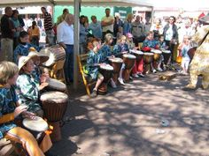 Djembe for kids is fun