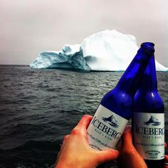 Iceberg Beer - to drink while in Newfoundland Newfoundland Canada, Newfoundland And Labrador, East Coast Canada, All About Canada, Travel And Tourism, Travel Tips, I Am Canadian, Northwest Territories, Prince Edward Island