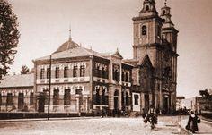 iglesia el carmen y universidad antigua