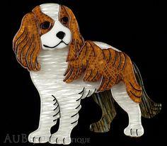 Erstwilder Cavalier King Charles Spaniel Dog Brooch Pin