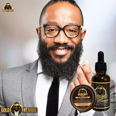 It will have your mane sprouting faster and stronger than ever. Just a few drops of this beard growth oil will promote beard growth as well as easing frizz. #Oil #Beard #Natural #Organic #Growth #ArganOil #CastorOil #JojobaOil #AlmondOil #BeardCare #AvocadoOil #GoldBeards #BeardGrowth #BeardedMan #BeardGrowthOil #MutacheGrowth Mustache Growth, Beard No Mustache, Beard Growth Oil, Hair Growth, Natural Beard Oil, Jamaican Black Castor Oil, Itchy Scalp, Hair Breakage, Beard Grooming