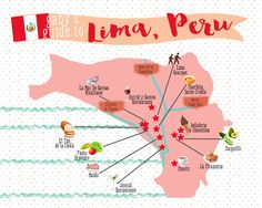Eating Guide to Lima, Peru. Check out the amazing food photos!