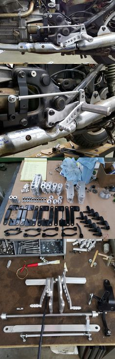 CX500 Rearsets