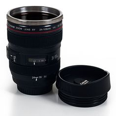Here's the perfect gift for the photographer who has everything. Now you can order your picture perfect half-soy, half-caf, extra hot, triple shot, no whip pumpkin spice latte and take it to go in you