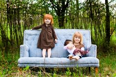 Gah so much to love about this. I want a house full of little gingerheaded girls.