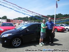 James H. Discovered The Donley Difference in Donley Ford Lincoln of Mount Vernon with his brand-new 2014 Ford Focus. Thank you James!