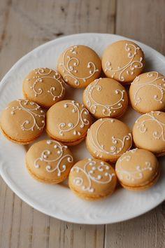 Ginger macarons.