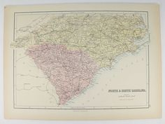 Antique Map NE United States Map A C Black Map New England - Us map 1884