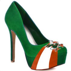 what is it about school pride that makes me actually kinda like an incredibly hideous pair of pumps? don't worry, not enough to buy them...