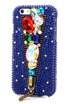 Bejeweled in your blue jeans design iPhone 6 cases glitter awesome style phone cover accessories pearl
