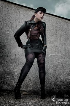 DIESELPUNK Commander Meli by MADmoiselleMeli.deviantart.com on @deviantART