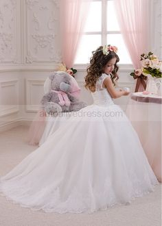 Mother & Kids Kids Girls Cute Lace Princess Dress 2018 New Autumn Baby Party Dresses For Girls Clothes Spring Children Dress 3 4 5 6 7 8 Years To Adopt Advanced Technology