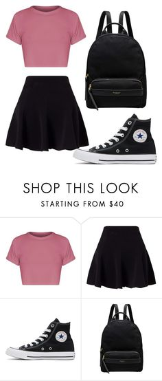 """Dedicated to Tae"" by kim-mj on Polyvore featuring Miss Selfridge, Converse and Radley"