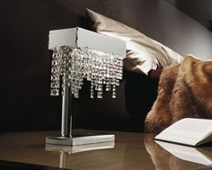 Masculine Bedroom With Crystal Table Lamp Buying Tips For Table Lamps Check  More At Http: