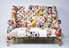 Sofá patchwork