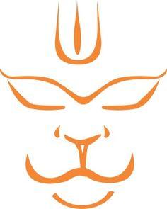 iDesign-Hanuman-Face-Windows-Car-Sticker