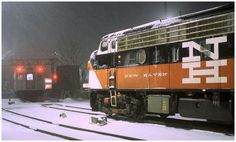 Herbert Matter - New Haven Railroad Design Consiltant 1952 - 55