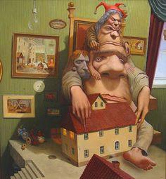 Surrealism and Visionary art: Micha Lobi