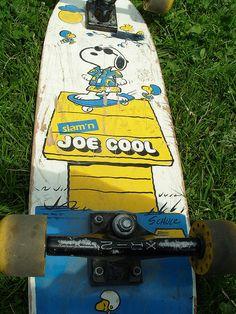 Vintage Snoopy Skateboard...
