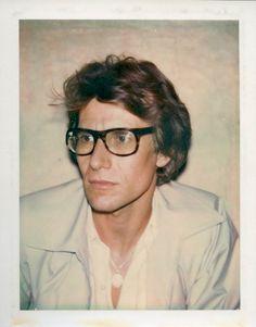An Andy Warhol polaroid of Yves Saint Laurent from 1972 Andy Warhol, Ysl, Selfies, Richard Avedon, Yves Saint Laurent, High Society, Christian Dior, Pop Art, British Journal Of Photography