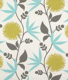 Duralee Dahlia Aegean Fabric