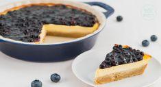Genialer Low Carb Cheesecake ohne Zucker und Mehl: dieser zuckerfreie Käsekuchen mit Knusperboden aus Mürbteig wird super cremig!