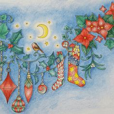 Take a peek at this great artwork on Johanna Basford's Colouring Gallery!                                                                                                                                                                                 More
