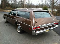 "1971 Plymouth Fury ""Sport Suburban"" station wagon."