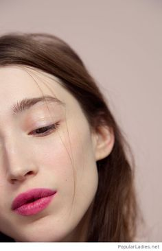Just pink lips