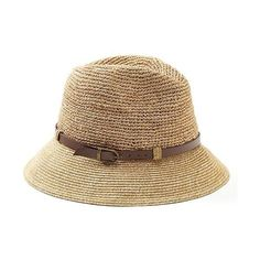 Banana Republic Julie Panama Hat ($45) ❤ liked on Polyvore