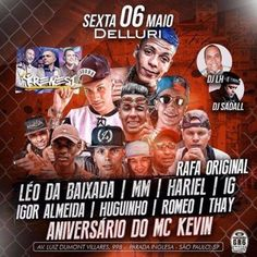 Aniversário do Mc Kevin na Delluri - http://www.baladassp.com.br/balada-sp-evento/Delluri/172