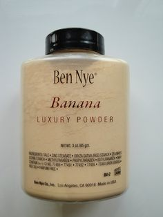 Makeup with Jane: Ben Nye Banana Powder....a review