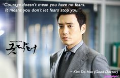 Good Doctor quote: Joo Sang-wook as Kim Do-han