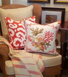 - St. John -| Beach Pillows | Coastal Pillows