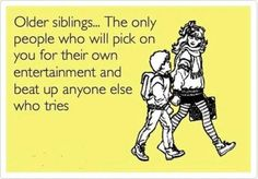 So true!  #funny #parenting #siblings