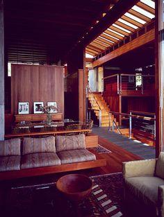 architecture of Ray Kappe: Retro Interior Design, Mid-century Interior, Interior Design Inspiration, Modern Interior, Interior Architecture, Interior Decorating, Retro Home Decor, Mid Century House, House Design