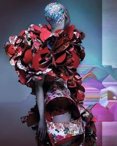 Comme des Garçons by Nick Knight for AnOther Magazine