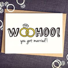 Hochzeit+Karte+lustig++lustige+Hochzeit+Karte+von+FinchandtheFallow