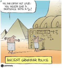 Pedantry is a very old habit. #grammar #editors