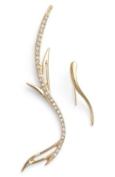 JULES SMITH Jules Smith 'Branch' Mismatched Ear Crawlers available at #Nordstrom