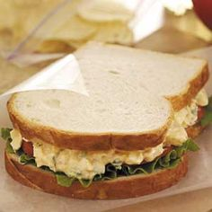 How to Make an Egg Salad Sandwich #stepbystep