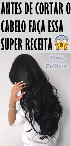 ANTES DE CORTAR SEU CABELO FAÇA ESSA SUPER RECEITA CASEIRA!